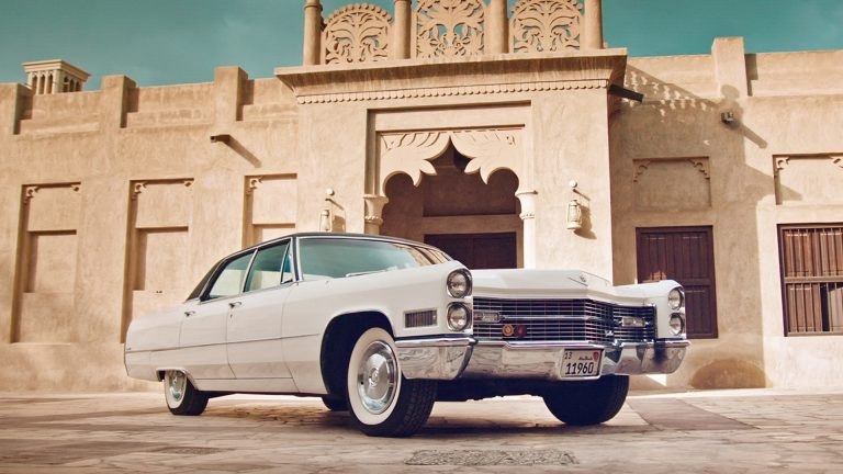 Tariq's 1966 Cadillac Sedan DeVille in traditional setting