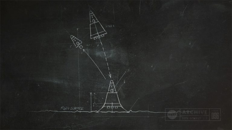 A shot from our animated illustrations for the Engineering Space project