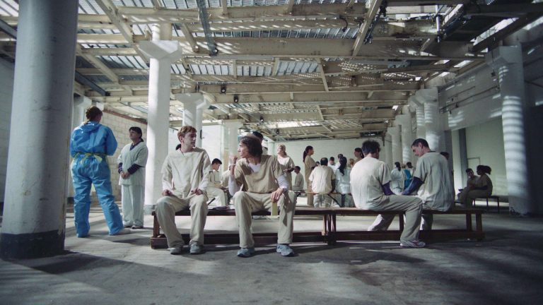 'In the flesh' visual effects shot of zombie patients inside a derelict building
